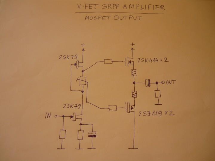 audiodiyers hu • Téma megtekintése - V-FET SRPP power amplifier